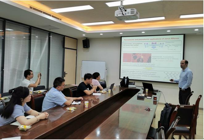 Dr. Mohammad Khazaei from National Yokohama University visited ICMD